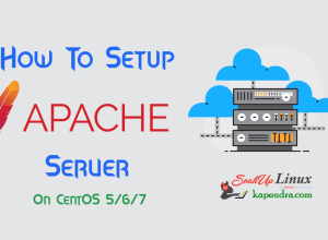 How To Install Apache 2.2 on CentOS 5/6/7?