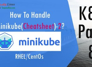How To Handle Minikube(Cheatsheet)-2? K8s - Part: 8