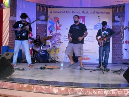 Rock Band Performing in Delhi