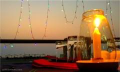 Sun Set Candle, Goa India
