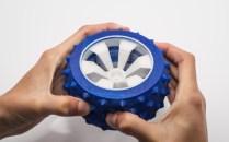 TPU flexible resistant wheel.