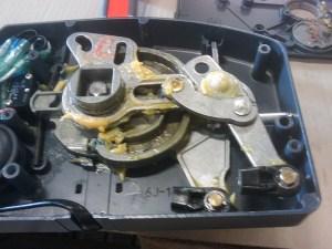 Yamaha 703 Control converting pull to push