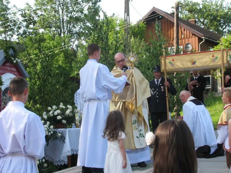 Uroczystość w Kaplicy na Zagorzu
