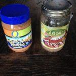 Almond versus Peanut Butter