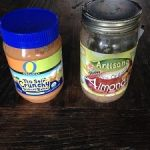 Almond butter and peanut butter