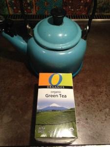 Gabe Kapler's green tea