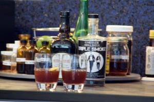 Finished cocktails