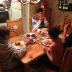Kids around the table