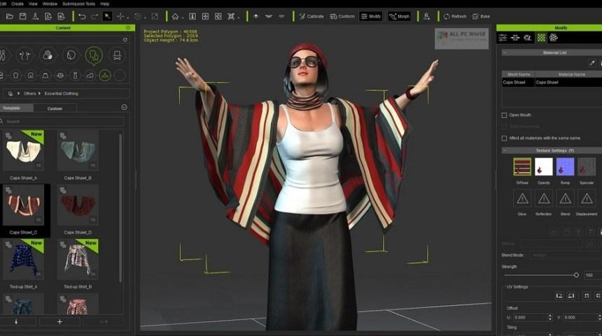 Reallusion iClone Character Creator 3 con paquete de recursos Descarga gratuita