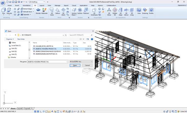 Descarga completa gratuita del software Gstar CAD 2019