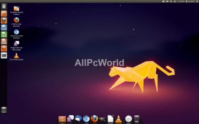 Interfaz de usuario de Linux OS Desktop Edition