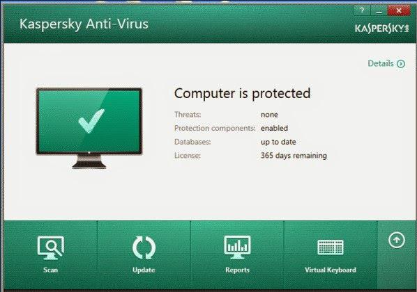 Kaspersky Antivirus Última versión Descarga gratuita