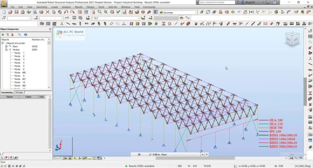Autodesk Robot Structural Analysis Professional 2021 Descarga gratis