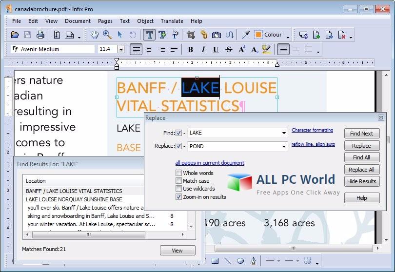 Infix PDF Editor Pro 7 Revisión