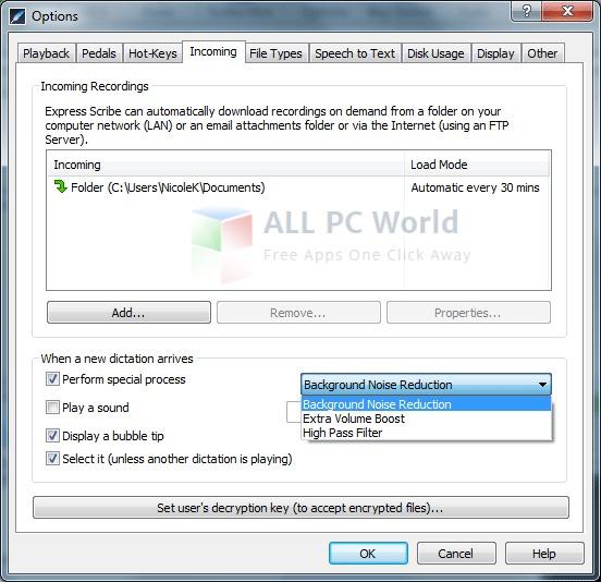 Revisión del software de transcripción Express Scribe