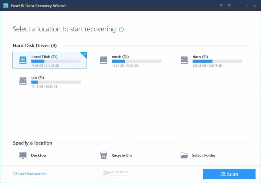 EaseUS Data Recovery Wizard Technician Edition 13.5 Descarga gratuita