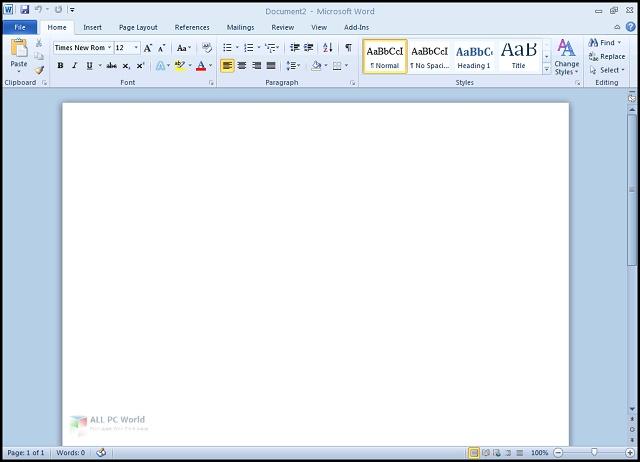 Microsoft Office 2010 Pro Plus actualizado en junio de 2020