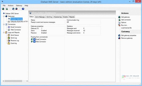 Descargar Diafaan SMS Server 4.2 gratis