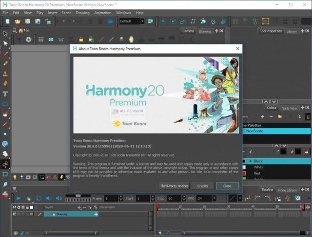 Descarga gratuita de Toon Boom Harmony Premium 2020 v20.0