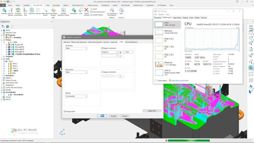 Descarga gratuita de Autodesk PowerMill Ultimate 2020