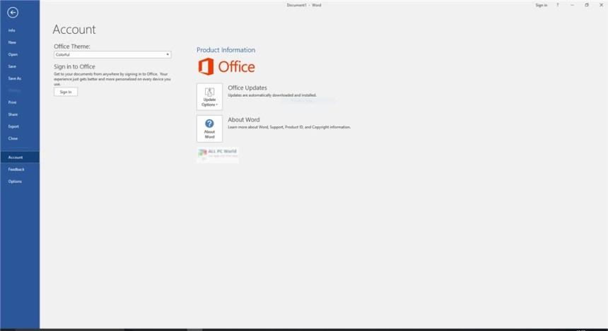Office 2016 Pro Plus VL diciembre de 2019 Descarga gratuita