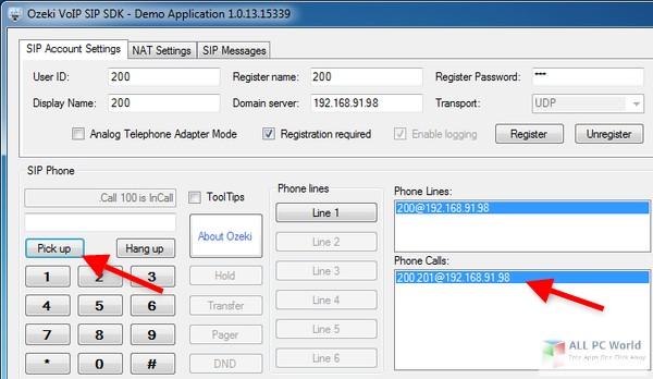 Descarga gratuita de OZEKI VoIP SIP SDK 1.9