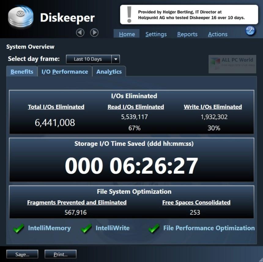 Condusiv Diskeeper 18 Professional