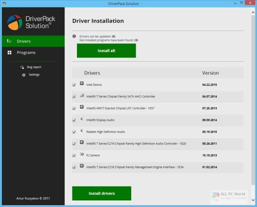 Solución DriverPack Offline 2018
