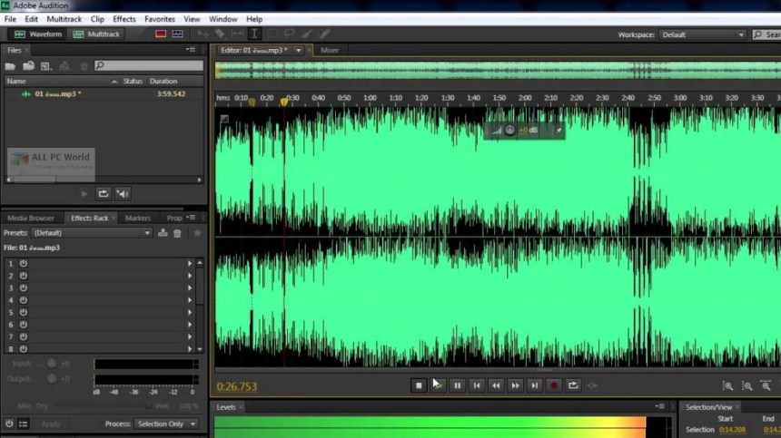 Descarga gratuita de Adobe Audition CC 2019 v12.0