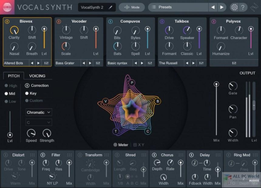 iZotope VocalSynth 2.0