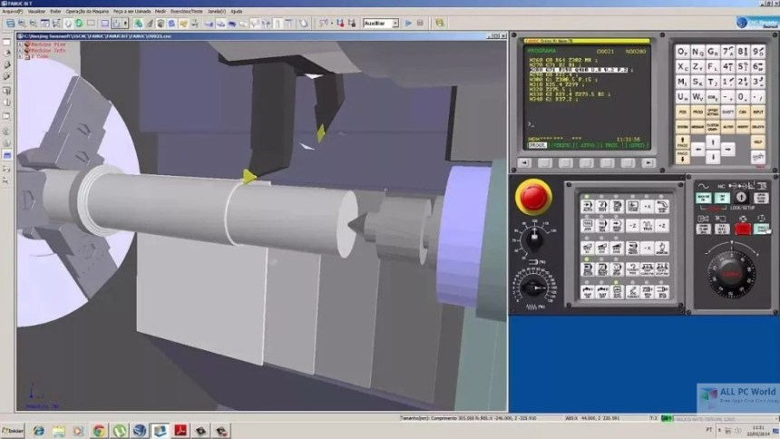 Nanjing Swansoft CNC Simulator 7.2 Descarga gratis