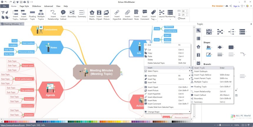 Descarga gratuita de Edraw MindMaster Pro 6.3