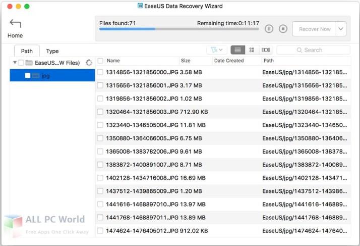 Descargar el Asistente de recuperación de datos de EaseUS 11.8 para Mac