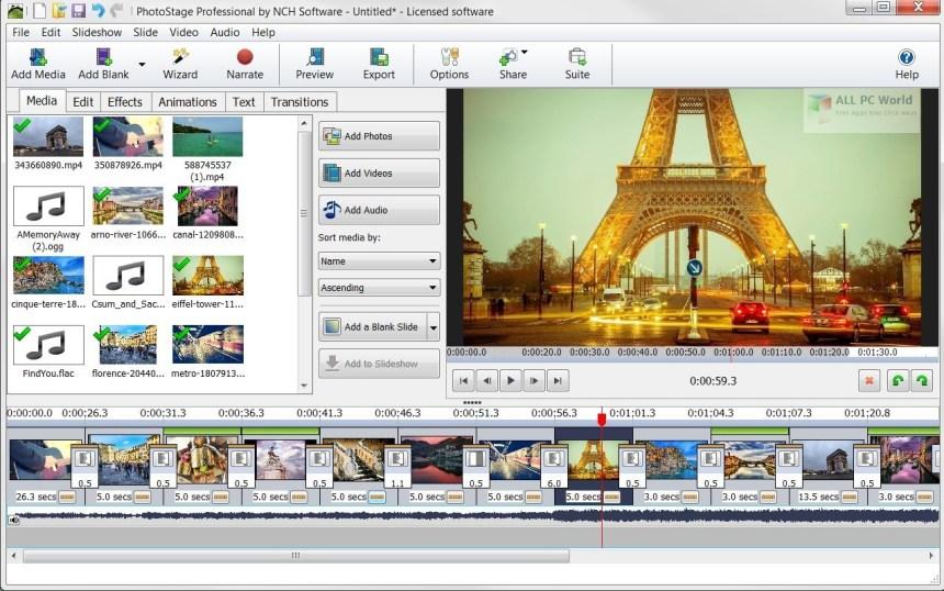 Revisión de NCH PhotoStage Photo Slideshow Maker Professional 5