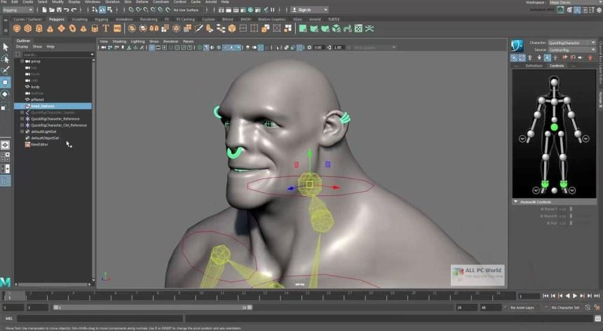 Revisión de Autodesk Maya 2018