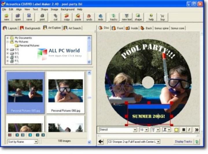 Etiquetadora de CD / DVD Acoustica