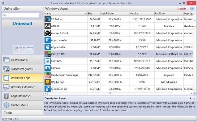 Revo Uninstaller Pro 4.3.7 Descarga con un clic