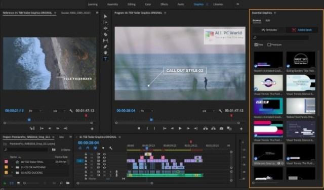 Adobe Premiere Pro 2020 v14.4 Descarga con un clic