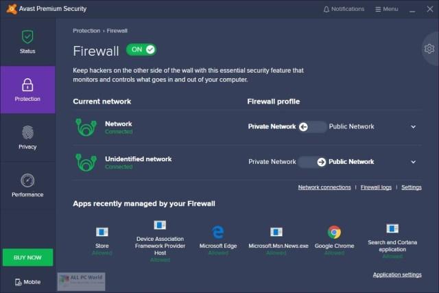 Enlace de descarga directa de Avast Premium Security 20.8