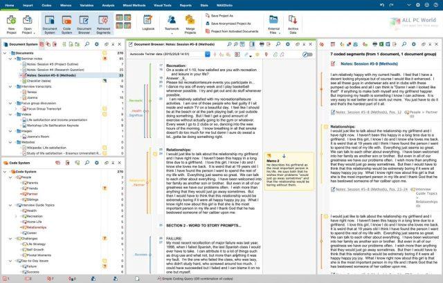 Descarga con un clic de MAXQDA Analytics Pro 2020 R20.2