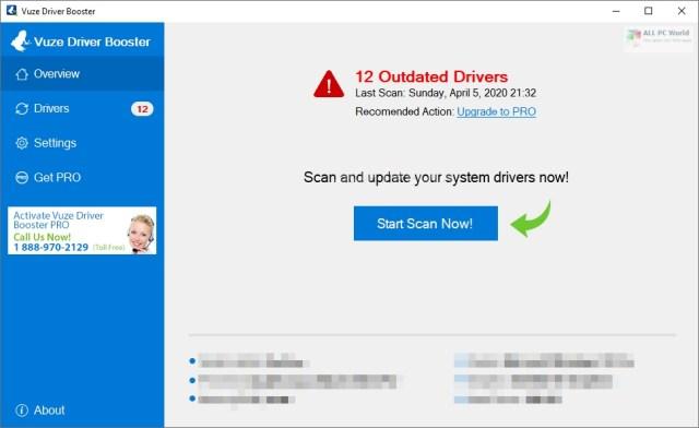 Descarga gratuita de Vuze Driver Booster Pro 20.8