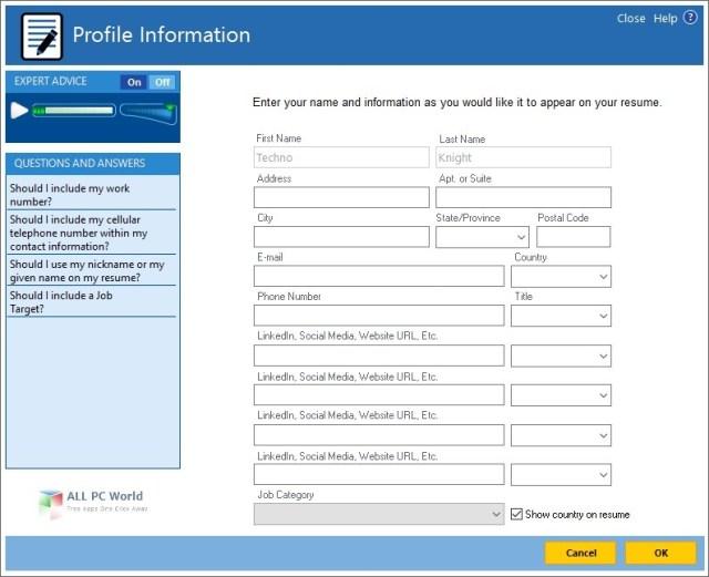 ResumeMaker Professional Deluxe 20.1.2