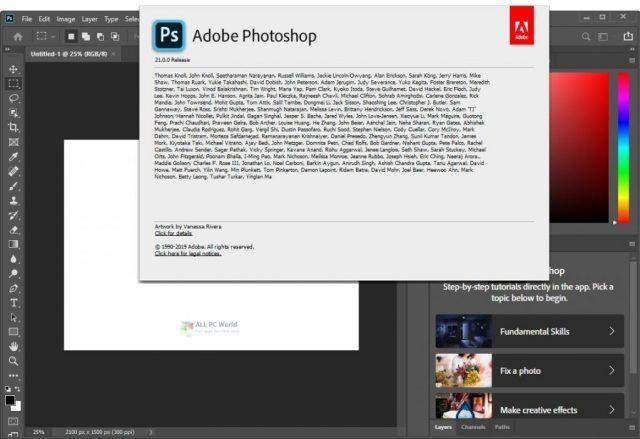 Adobe Photoshop CC 2020 v21.2.2 Descarga gratuita