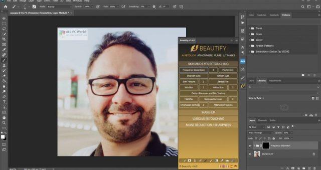 Embellecer para Adobe Photoshop 1.6 Versión completa