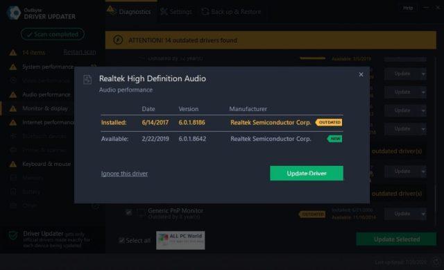 Descarga de Outbyte Driver Updater 2.0