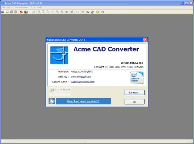 Convertidor de CAD Acme 2020 v8.9