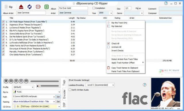 dBpoweramp Music Converter R17.3 para Windows