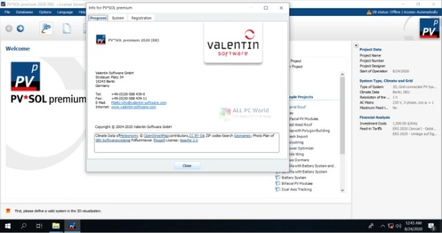 PVSOL Premium 2020 R8 Descarga gratis