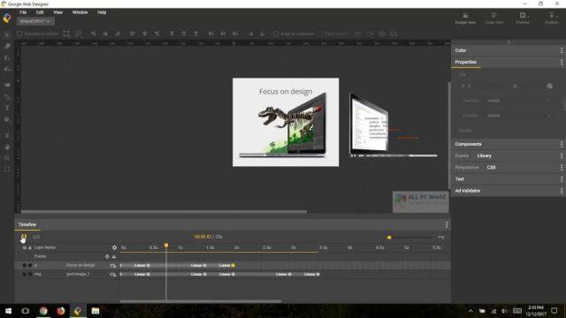 Descarga directa de Google Web Designer 10