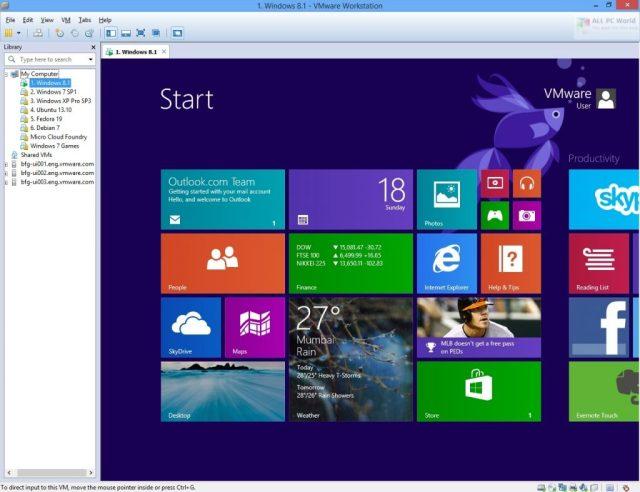 Enlace de descarga directa de VMware Workstation Pro 16.1